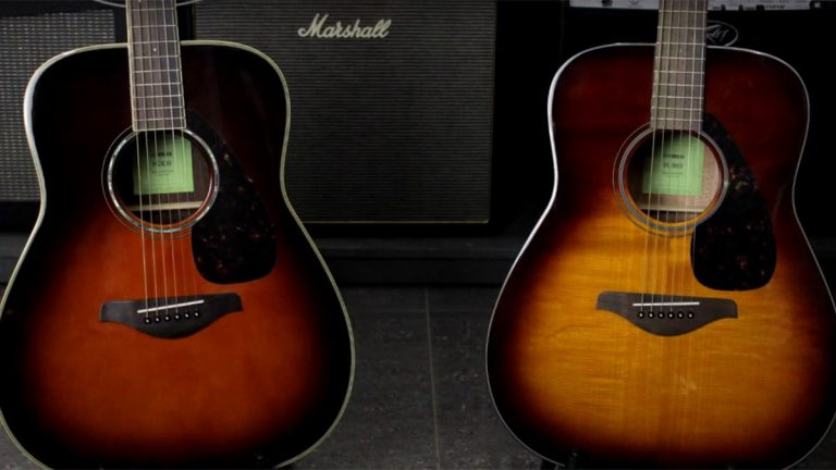 Yamaha FG800 VS FG830 - Which Is The Better Guitar?